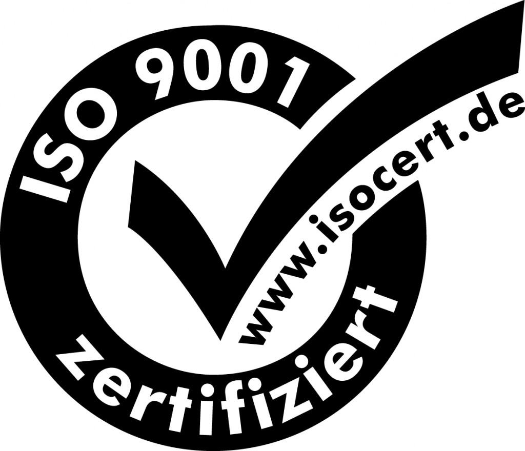 ISO 9001 Zertifikat
