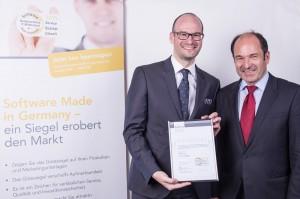 Carsten Vossel und Dr. Martin Hubschneider