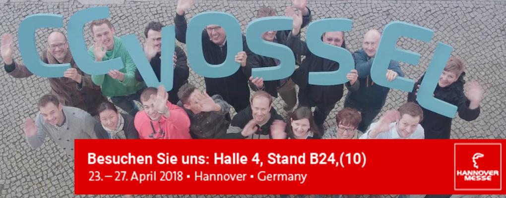 CCVOSSEL auf der Hannover Messe 2018